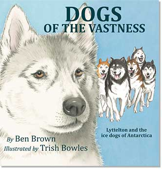Book Cover - Dogs Of The Vastness